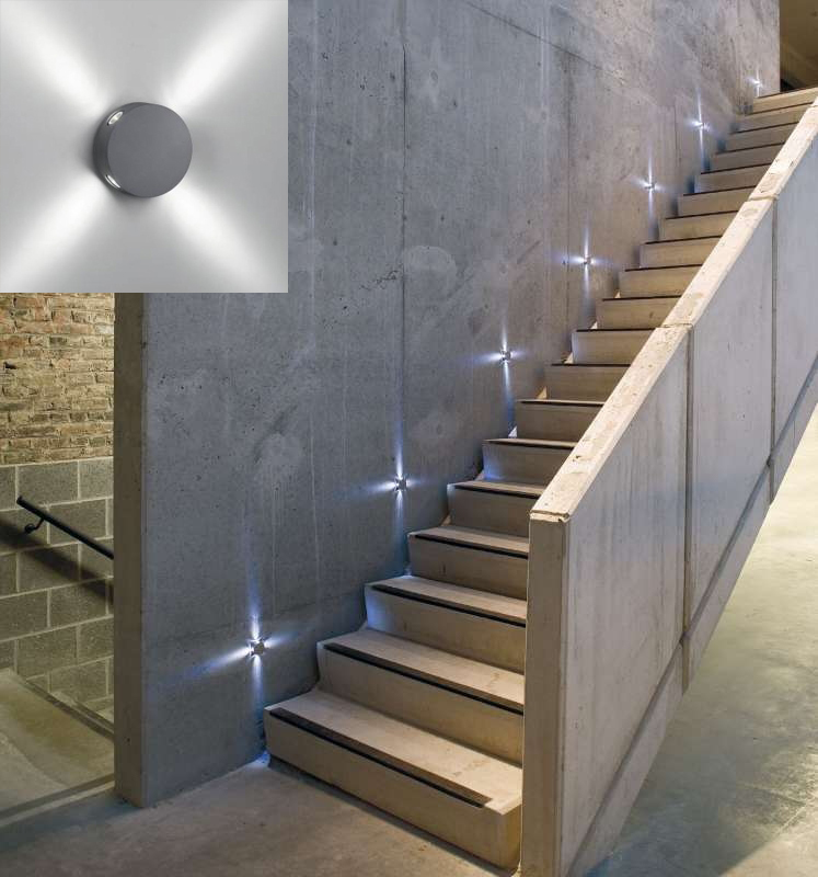 Se alizaci n escalera panama lighting - Iluminacion de escaleras ...