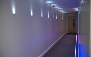 Iluminación Decorativa de Pasillos
